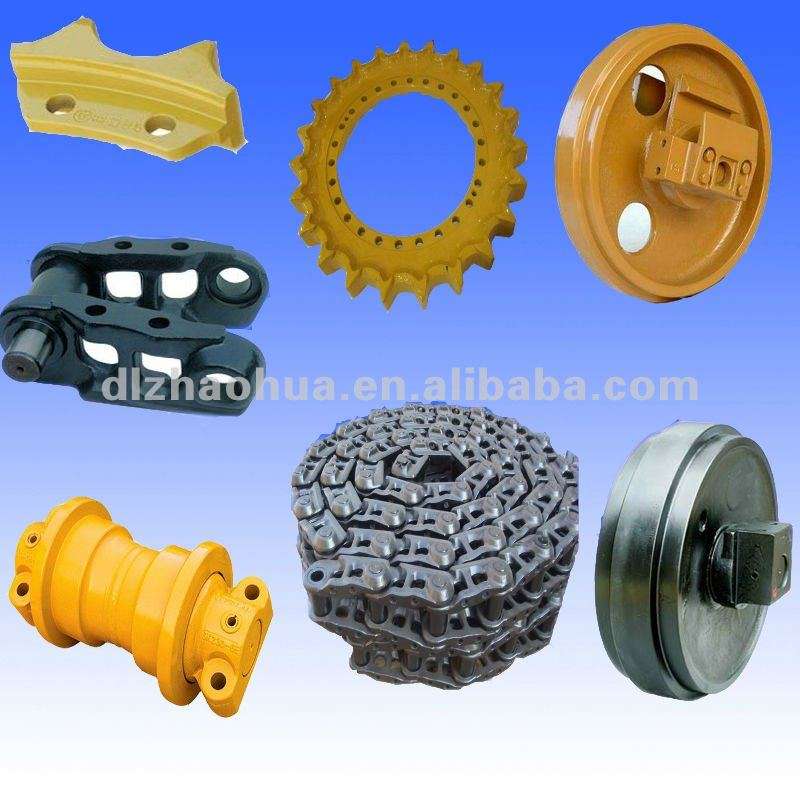 Bulldozer undercarriage parts Komatsu D85 track link,track chain
