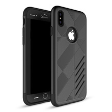 TPU PC smart back cover case for iphone x,luxury for iphone x hard protective case
