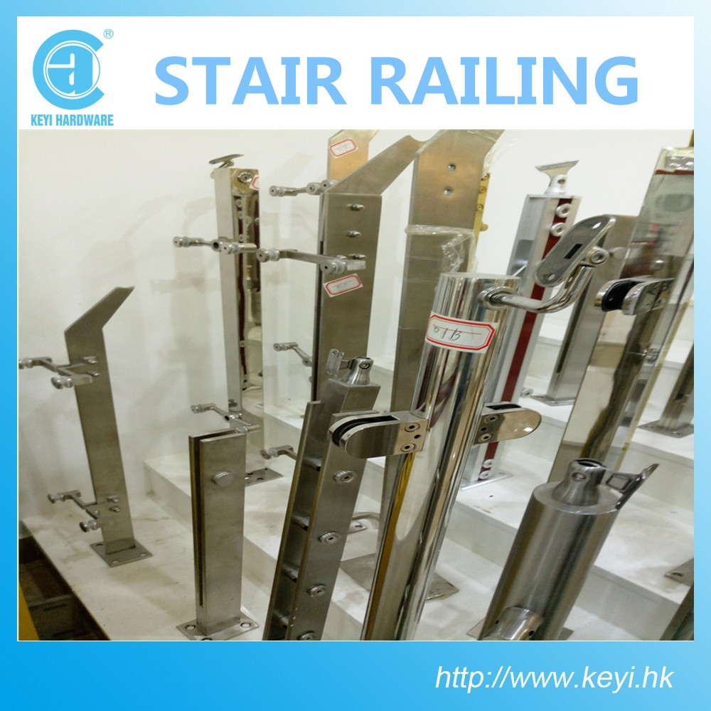 2016 HOT SALE Stainless Steel Stair Handrail/ stainless steel handrail for stairs KE-255 at factory price with high quality