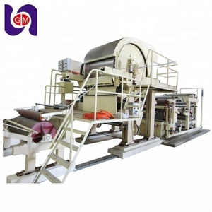 Guangmao jumbo roll virgin tissue paper making machinery waste paper recycled manufacturing kitchen paper towel roll price