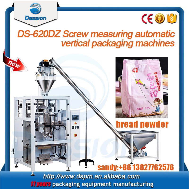 1kg Fully Automatic Bread Powder Pouch Packing Machine with Auger Filler