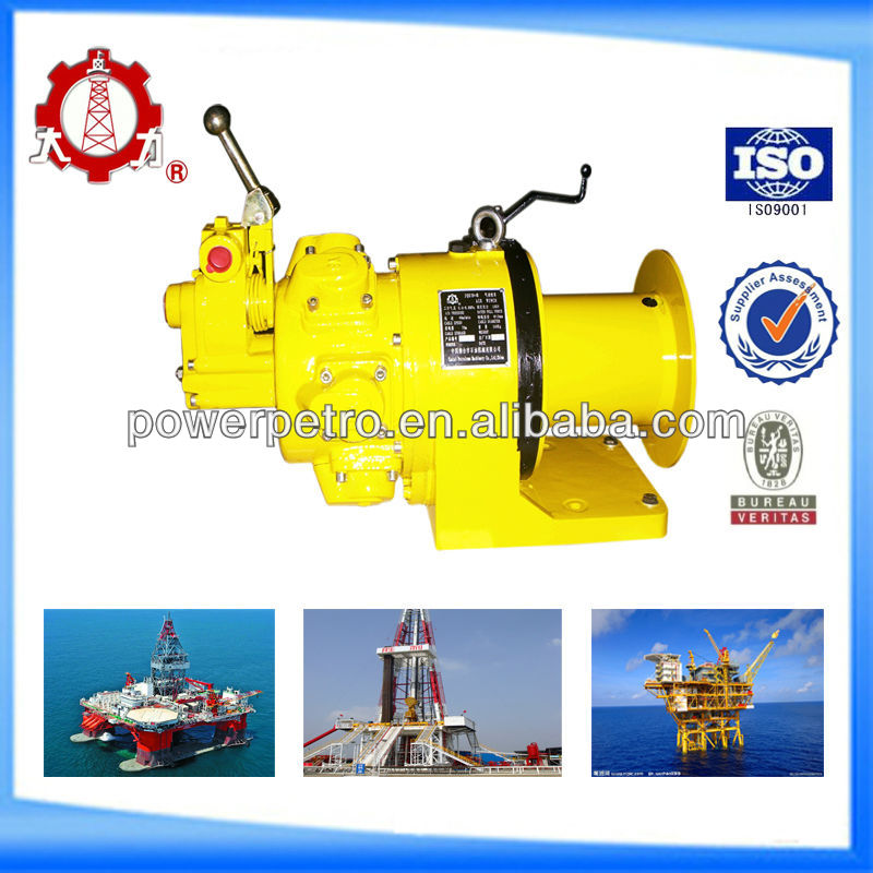 2 Ton small pulling and lifting pneumatic air winch