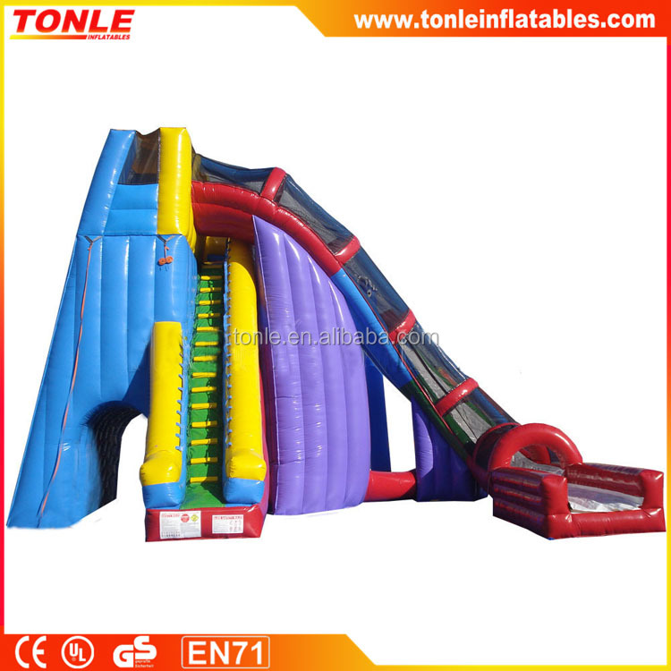 Outdoor Water Toys Product : Outdoor mega inflatable twister water slides buy