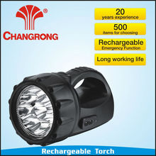 Chinese Plastic Rechargeable Emergency Portable High power Led Torch/Flashlighting