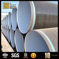 Epoxy Coated Plastic Coated Large Diameter Spiral Steel Pipe
