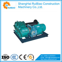 top quality hydraulic lifting hoist winch,construction site winch