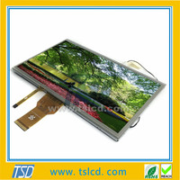 Wide view angle 10.1'' inch tft lcd display with 4wires touch screen