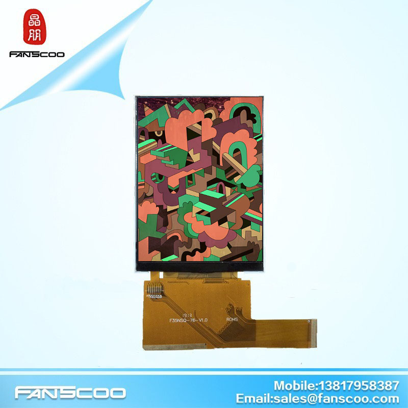 Factory price 3.5 inch hvga 320x480 tft vertical projector replacement lcd display panel