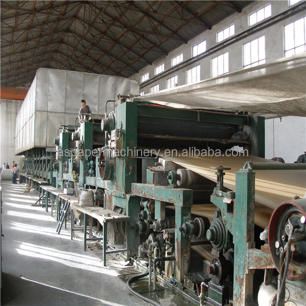 Henan Recycle Paper Cardboard Paper Making Machine