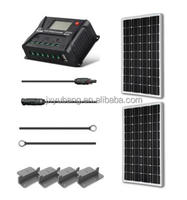 Factory price 200 Watts 12 Volts Mono crystalline solar panel kit solar power system solar panel system