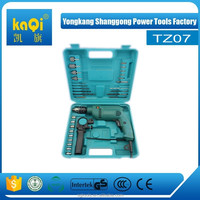 KaQi professional impact drill tool set 28pcs electrical tool kit