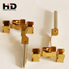 Precision Fasteners Hollow Brass Power Plug