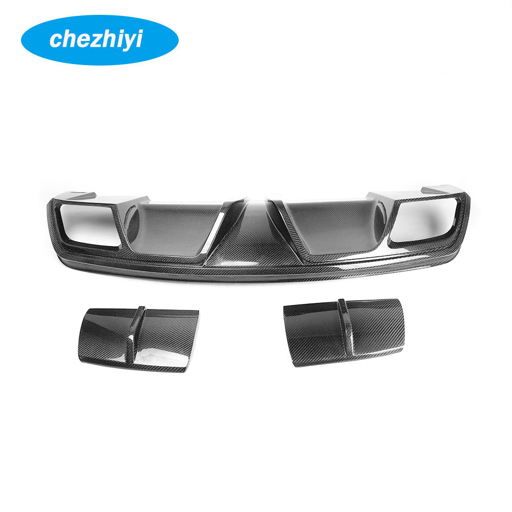 Carbon Car Rear Lip Diffuser for MERCEDES BEN Z C117 <strong>W117</strong> CLA250 CLA45