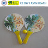 summer beach rackets,beach paddle,beach bats with ball