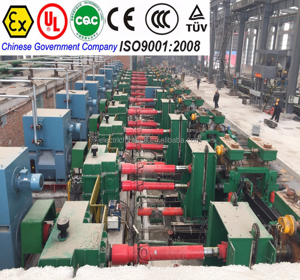 mini steel hot rolling mill for produce reinforcing steel bar,round bar,ange bar
