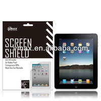 For iPad removable screen protector oem/odm (High Clear)