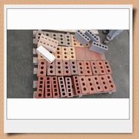 Construction material hollow clay brick