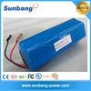 High performance 18650 battery pack / 18650 lithium ion battery 3.7V 10400mAh