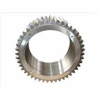 MMS custom made external steel ring gear with partial teeth toyota gear