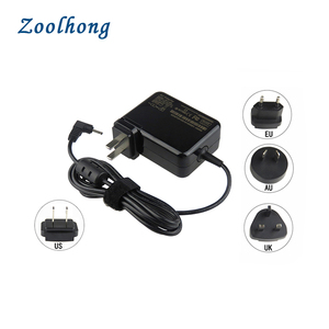 19V 2.1A Interchangeable Plug Power Adapter For Asus Laptop 40W Power Adapter 2.5*0.7mm