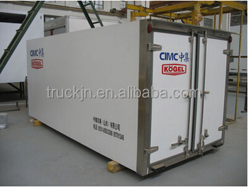 CIMC refrigerated truck body