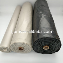 100% recycled pe construction builder film 200um black and clear