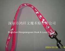 2012 High quality Nylon webbing dog lead strap custom logo