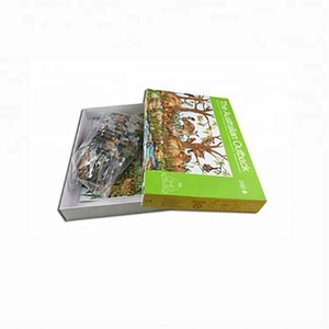 china supplier 3d paper model puzzle