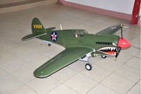Most Scale P40 Warhawk cheap rc airplane