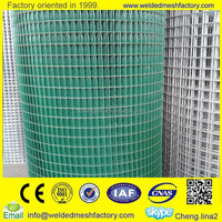 1x1 pvc coated welded wire mesh(factory)