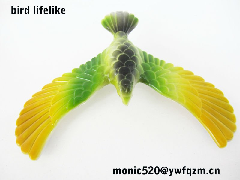 plastic bulk toys wholesale lifelike bird
