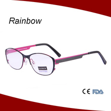 2014 latest optical eyeglass frames for women metal optical frame
