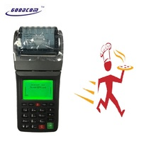 GT6000GW GOODCOM New listing Online Order Restaurant Portable Bill Printer supports 3G, WIFI and SMS