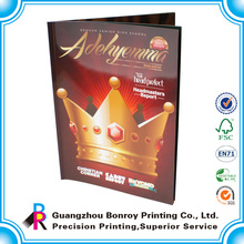 China manufacturer high quality personalized design adult cheap magazine printing