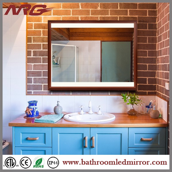 Wall Mounted Vanity Mirror With Led Light