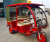 2016 new electric tricycle for passenger fiber roof Indonesia Philippines Nepal