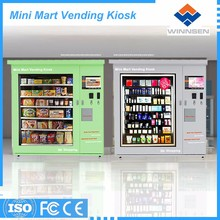 Beef/Baked potatoes/Fries snacks vending machine coin payment