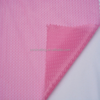 factory direct jersey fabric for lining garment, knited polyester sportswear fabric