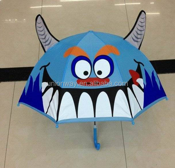 ainimal shape ear kids umbrella
