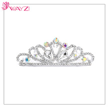 Wholesale good price silver jewelry sets tiaras and crown