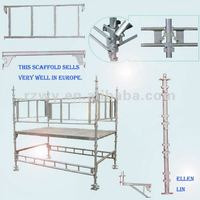 Mobile Quick lock formwork and scaffolding plate components EN74