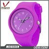 Many different colors silicone interchangeable wristwatch jelley watch