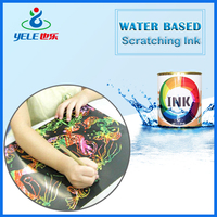 Fast-drying water based screen printing ink