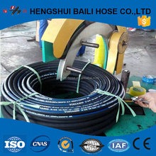 Gas pipe wire spiral / high quality oil tube EN853 1SN 2SN / MANULI hydraulic rubber hoses