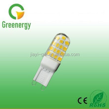 AC220-240V 2.5W LED G9 Lamp Silicone Capsule For Decoration Small Lamp With CE&RoHs Certificates