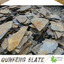 split surface finishing and cut-to-size stone form natural rusty culture stone raw slate