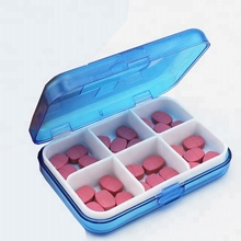 wholesale monthly weekly pill box timer organizer plastic daily pill box