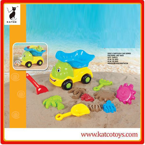 Wholesale customs children toys beach sand tool set
