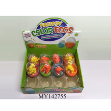 capsule egg fill with dinosaur toys for Easter day . promotion kids' toys
