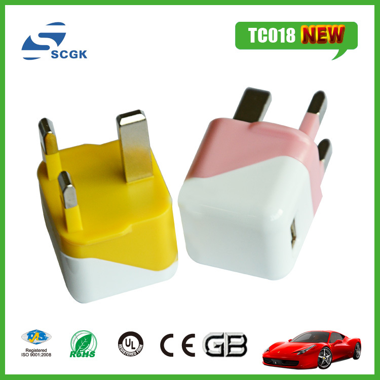 soft PVC mobile phone charger fit for all mobile phones